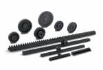 ZCL/ZCR - koła i listwy zębate z technopolimeru